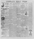 Portland Daily Press: June 26, 1896