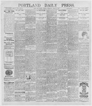 Portland Daily Press: June 29, 1896