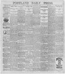 Portland Daily Press: July 6, 1896