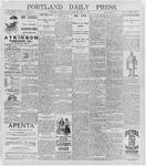 Portland Daily Press: July 7, 1896