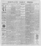 Portland Daily Press: July 8, 1896
