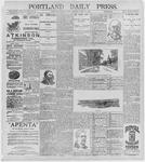 Portland Daily Press: July 10, 1896