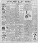 Portland Daily Press: July 13, 1896