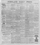 Portland Daily Press: July 14, 1896