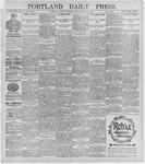 Portland Daily Press: July 15, 1896