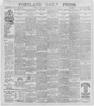 Portland Daily Press: July 16, 1896