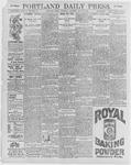 Portland Daily Press: July 18, 1896