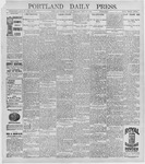 Portland Daily Press: July 20, 1896