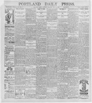 Portland Daily Press: July 23, 1896