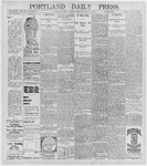 Portland Daily Press: July 30, 1896
