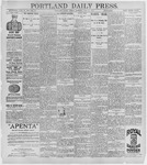 Portland Daily Press: July 31, 1896