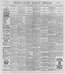 Portland Daily Press: August 1, 1896