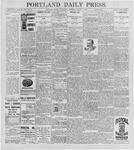 Portland Daily Press: August 5, 1896