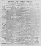 Portland Daily Press: August 6, 1896