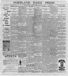 Portland Daily Press: August 8, 1896