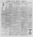 Portland Daily Press: August 11, 1896