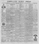Portland Daily Press: August 12, 1896