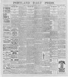 Portland Daily Press: August 13, 1896