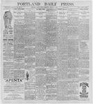 Portland Daily Press: August 14, 1896