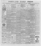 Portland Daily Press: August 17, 1896