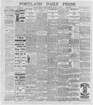 Portland Daily Press: August 20, 1896