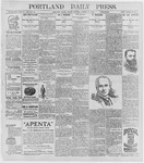 Portland Daily Press: August 21, 1896