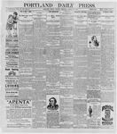 Portland Daily Press: August 25, 1896