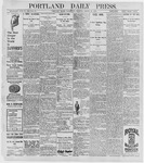 Portland Daily Press: August 26, 1896