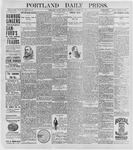 Portland Daily Press: August 28, 1896