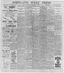 Portland Daily Press: September 3, 1896