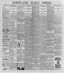 Portland Daily Press: September 10, 1896
