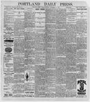 Portland Daily Press: September 11, 1896