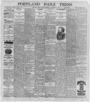 Portland Daily Press: September 18, 1896