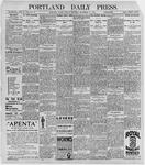 Portland Daily Press: September 22, 1896