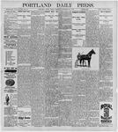 Portland Daily Press: September 25, 1896
