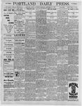 Portland Daily Press: September 26, 1896