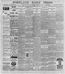 Portland Daily Press: September 28, 1896