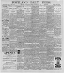 Portland Daily Press: September 29, 1896