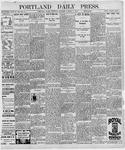 Portland Daily Press: October 1, 1896
