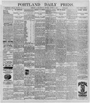 Portland Daily Press: October 5, 1896