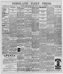 Portland Daily Press: October 6, 1896