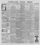Portland Daily Press: October 8, 1896