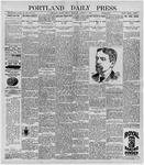 Portland Daily Press: October 9, 1896