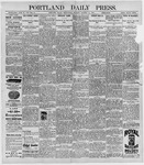 Portland Daily Press: October 14, 1896