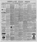 Portland Daily Press: October 16, 1896