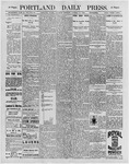 Portland Daily Press: October 17, 1896