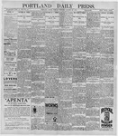 Portland Daily Press: October 20, 1896