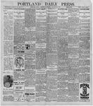 Portland Daily Press: October 21, 1896