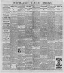 Portland Daily Press: October 22, 1896
