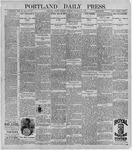 Portland Daily Press: October 26, 1896